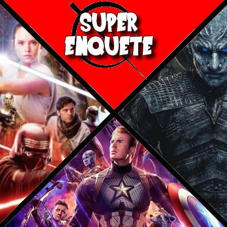 Super Enquete - Vingadores Ultimato, Game of Thrones ou Star Wars Episódio IX - Qual o mais esperado do ano