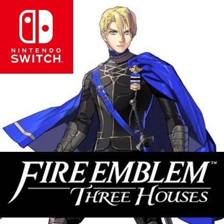 Fire Emblem Three Houses - Introdução do Dimitri