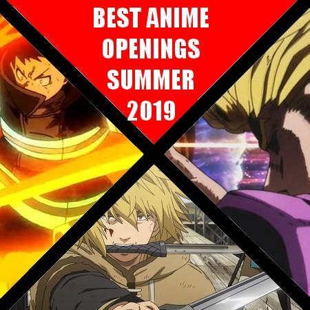 TOP 10 - Melhores Aberturas de Anime do Verão 2019
