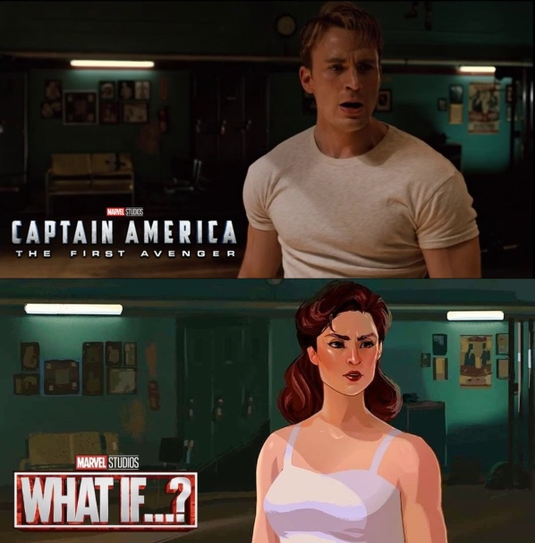 Captain America: The First Avenger - After Credits Scene - What If!? Captain Carter Scene