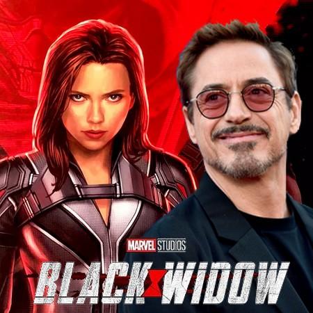 Viúva Negra - Tony Stark (Robert Downey Jr.) deve aparecer no filme