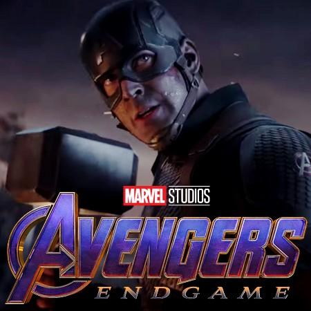 Melhores de 2019 - Capitão América com Mjolnir Vs. Thanos em Vingadores Ultimato