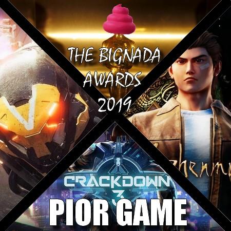 The Bignada Awards 2019 - Votação de Pior Game do Ano