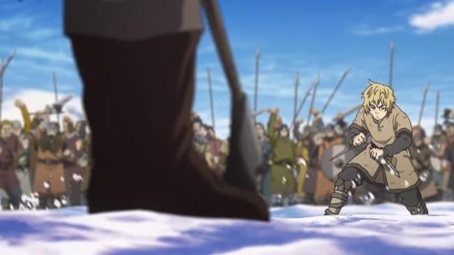 Vinland Saga - Episode 18 Screenshot 02 - Thorfinn Vs. Thorkell