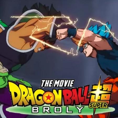 Melhores de 2019 - Goku Vs. Broly em Dragon Ball Super Broly