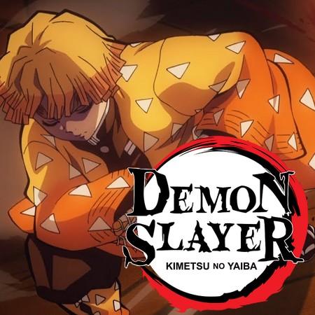 Melhores de 2019 - Zenitsu sonâmbulo Vs. Oni em Demon Slayer
