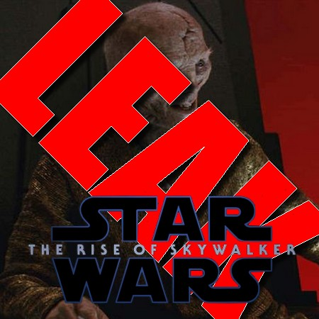 Star Wars - The Rise of Skywalker - Vaza spoiler da identidade do Lider Supremo Snoke