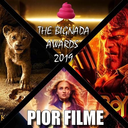 The Bignada Awards 2019 - Pior Filme do Ano