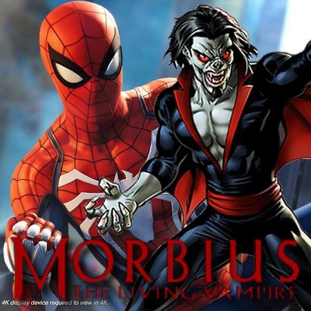 Morbius - Spider-Man PS4 aparece em foto vazada do filme