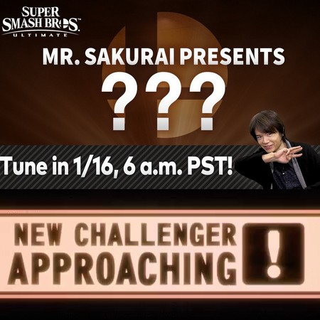 Super Smash Bros Ultimate - Sakurai apresenta o quinto lutador do Fighter Pass #1