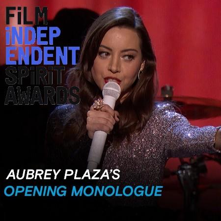 Aubrey Plaza critica falta de diversidade na indústria durante Spirit Awards