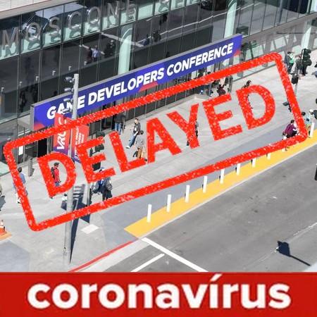 GDC 2020 é adiada devido ao Coronavírus