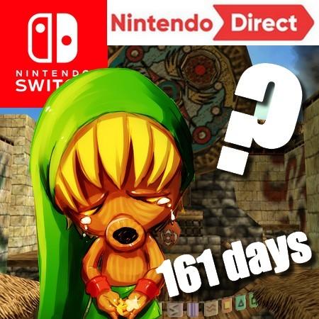 Maior intervalo de tempo na história sem um Nintendo Direct (161 dias)