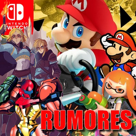 Mario Kart 9, Super Metroid Remake, Splatoon 3 e outros rumores de games de Nintendo Switch para 2020