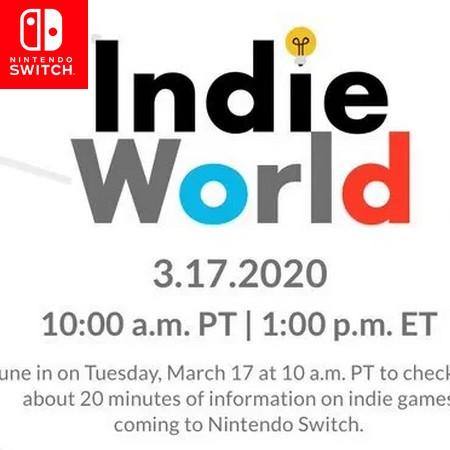 Anunciado Indie World para dia 17 03 2020