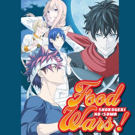 Food Wars Shokugeki no Soma - Season 5 ganha data de estreia