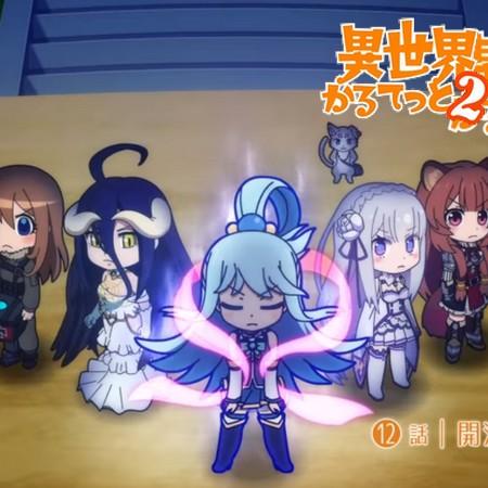 Isekai Quartet 2 - Preview do Episódio 12