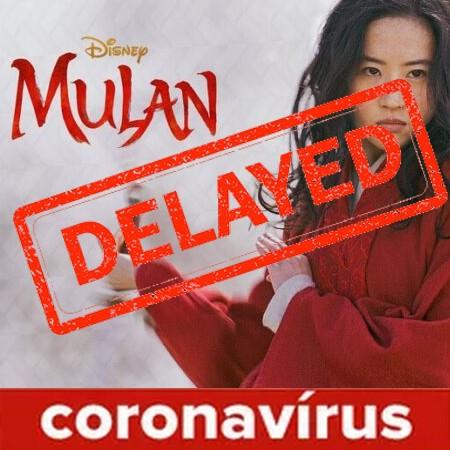 Mulan é adiado devido ao Coronavírus