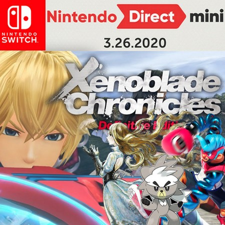Nintendo Direct Mini 26 03 2020 - Assista o Evento digital completo