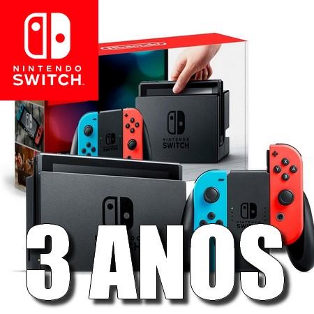 Nintendo Switch comemora 3 anos de aniversário