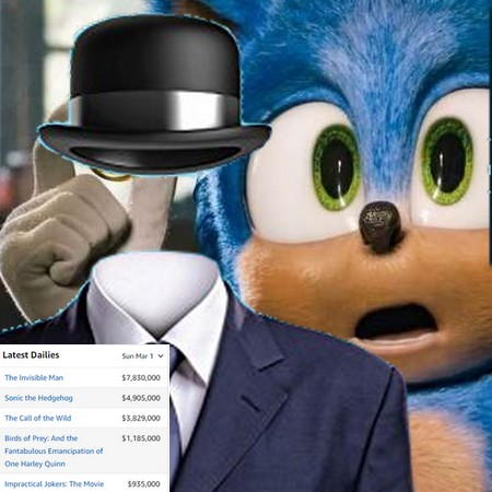 O Homem Invisível desbanca Sonic na bilheteria da semana nos EUA
