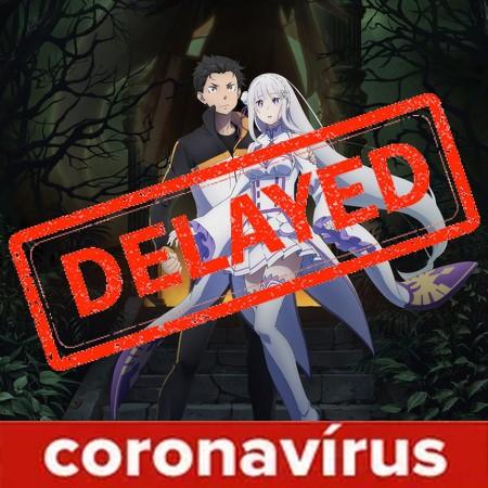 Re ZERO - Season 2 é adiada para julho devido ao Coronavírus