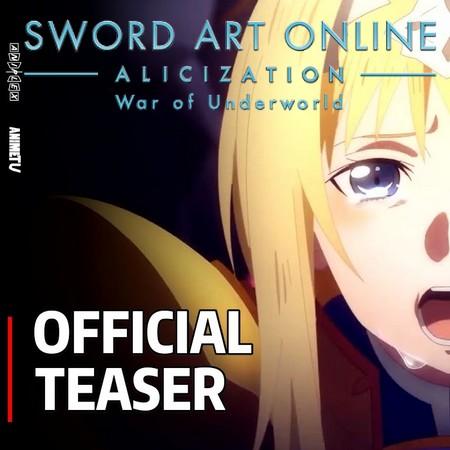 Sword Art Online - Alicization - War of Underworld - Trailer #2 da Parte 2 da Final Season