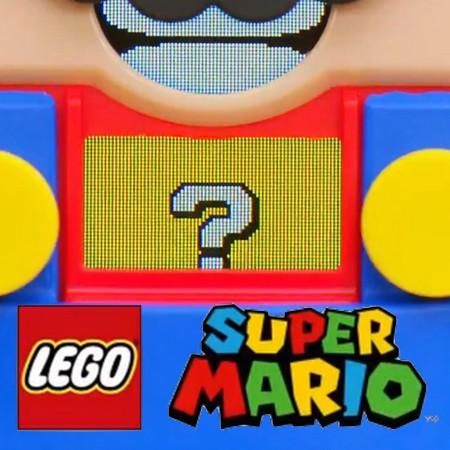 Teaser da Nintendo anuncia parceria entre Lego e Super Mario