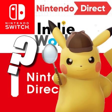 Vazam supostos detalhes do Nintendo Direct e Indie World de março 2020