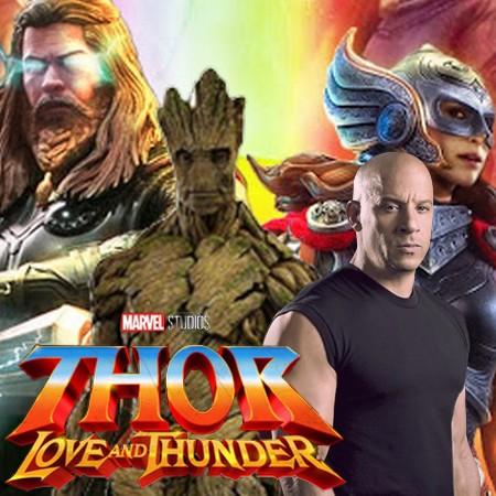 Vin Diesel confirma Guardiões da Galáxia em Thor Love and Thunder