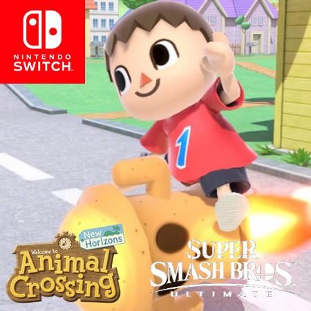 Animal Crossing New Horizons supera Super Smash Bros Ultimate no Japão