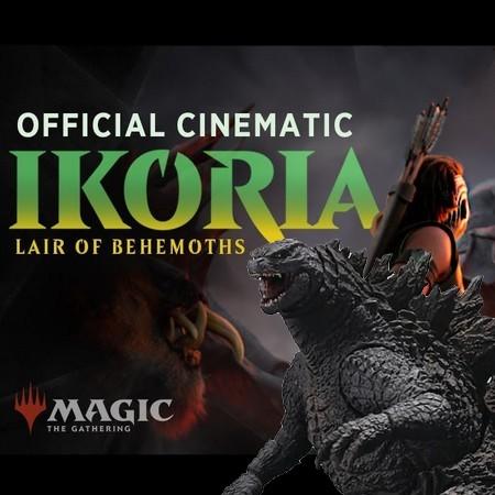 Magic The Gathering - Godzilla e outros Kaijuus estarão em Ikoria - Lair of Behemoths