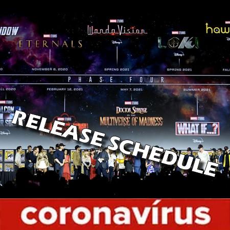 Revelado o novo calendário dos filmes da Fase 4 e 5 da Marvel Studios