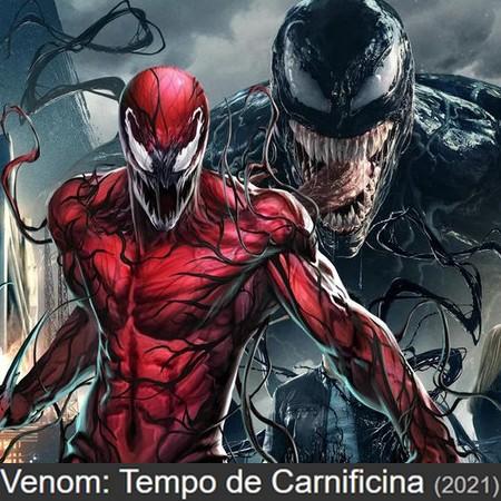 Venom - Tempo de Carnificina é o título brasileiro de Venom - Let There Be Carnage