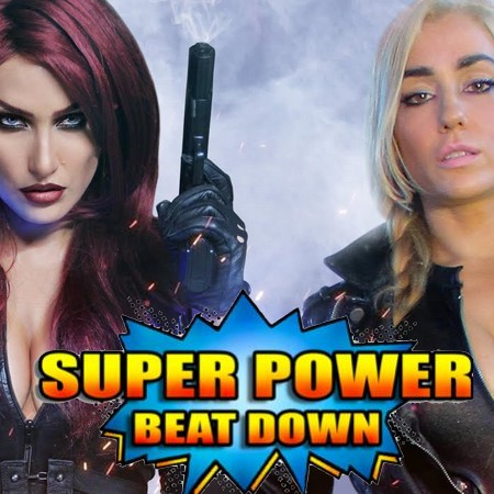 Viúva Negra Vs. Canário Negro - Super Power Beat Down - Episódio 26