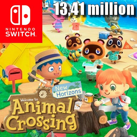 Animal Crossing New Horizons ultrapassa 13,41 milhões de unidades vendidas