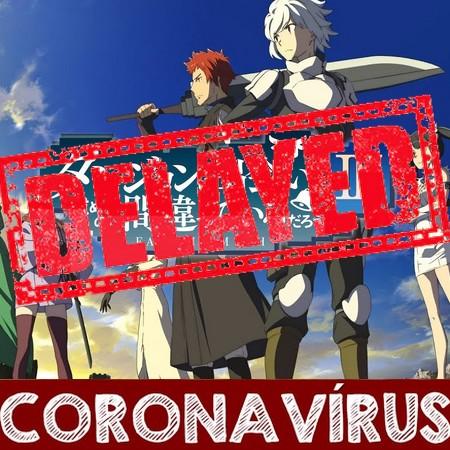 Danmachi III - Season 3 é adiada por tempo indeterminado devido ao Coronavírus