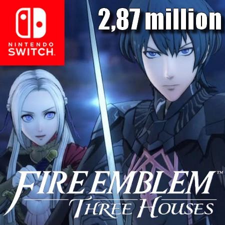 Fire Emblem - Three Houses ultrapassa 2,87 milhões de unidades vendidas