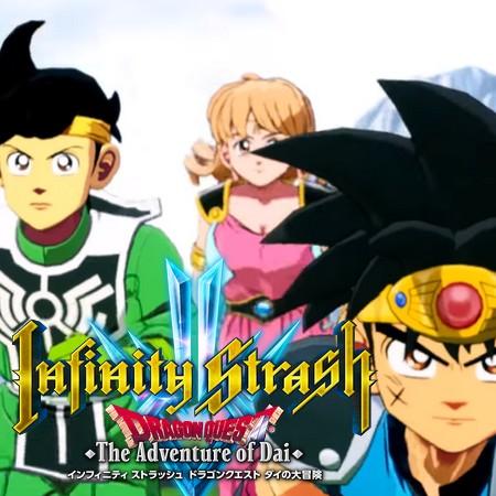 Infinity Strash - Dragon Quest - Adventure of Dai - Trailer Oficial do Game