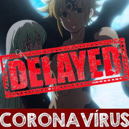 Nanatsu no Taizai - Anger´s Judgment - Season 4 é adiada por tempo indeterminado devido ao Coronavírus