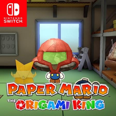 Paper Mario - The Origami King - Teaser de novo Metroid no final do trailer