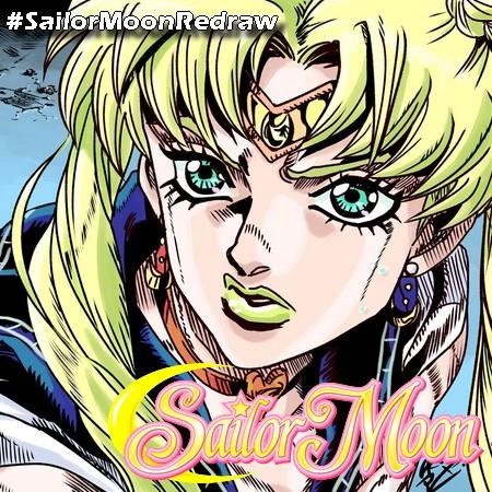 SailorMoonRedraw viraliza no twitter japonês