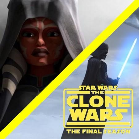 Star Wars - The Clone Wars - Darth Vader e Ahsoka Tano no S07E12 (Series Finale)