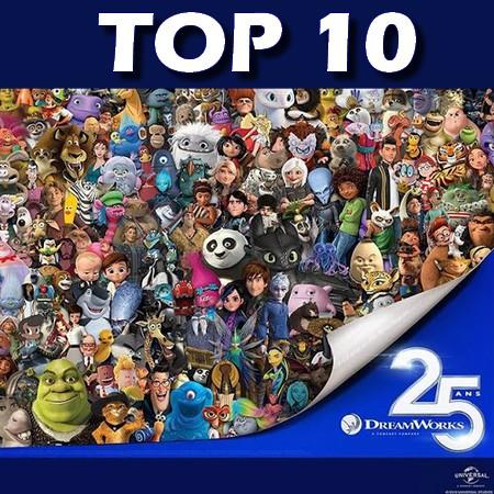 Top 10 - Melhores Filmes Animados da Dreamworks (Até 2020)