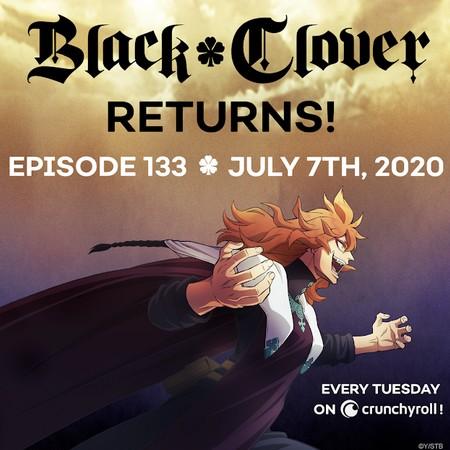 Black Clover - Anime retornará finalmente em julho