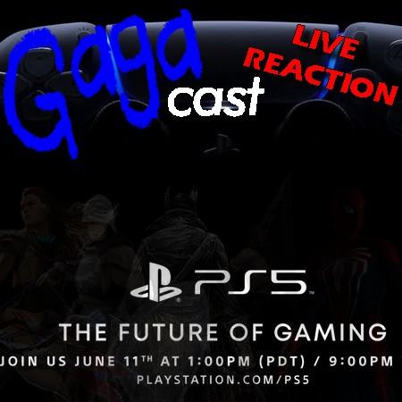 Gagacast - Live Reaction e Comentários do evento de revelação do Playstation 5