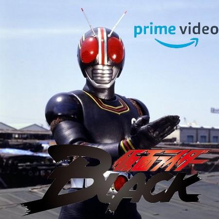Kamen Rider Black irá estreia no Amazon Prime Video do Brasil