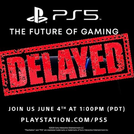 PS5 - Evento de revelação do console é adiado