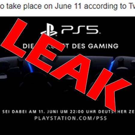 PS5 - Vaza nova data do evento de revelação do Playstation 5