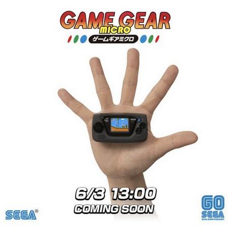 Sega anuncia Game Gear Micro em comemoração aos 60 anos da empresa